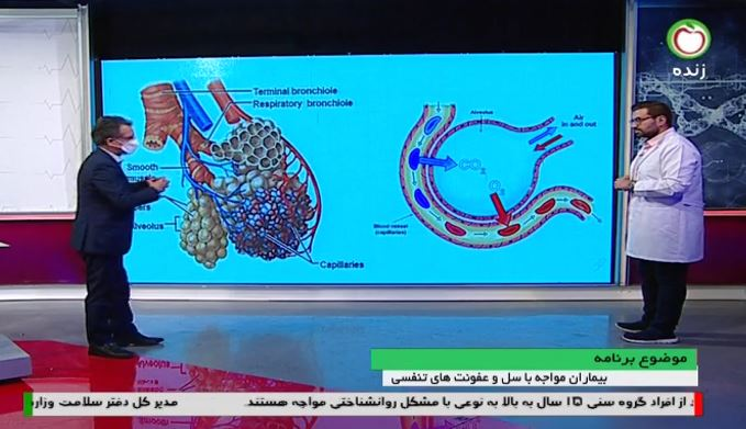 بیماران مبتلا با سل و عفونت های تنفسی
